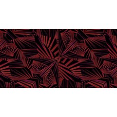 Sharp Tribal Pattern You Are Invited 3d Greeting Card (8x4)  by dflcprints