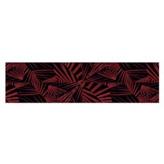 Sharp Tribal Pattern Satin Scarf (oblong) by dflcprintsclothing