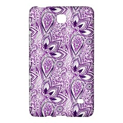 Purple Paisley Doodle Samsung Galaxy Tab 4 (7 ) Hardshell Case  by KirstenStar