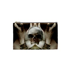 Skull Magic Cosmetic Bag (small)  by icarusismartdesigns