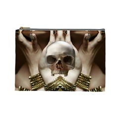 Skull Magic Cosmetic Bag (large)  by icarusismartdesigns