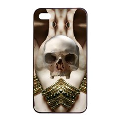 Skull Magic Apple Iphone 4/4s Seamless Case (black) by icarusismartdesigns