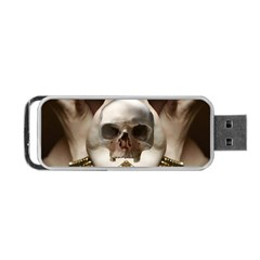 Skull Magic Portable USB Flash (One Side) by icarusismartdesigns