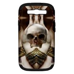 Skull Magic Samsung Galaxy S Iii Hardshell Case (pc+silicone) by icarusismartdesigns