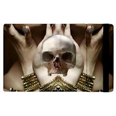 Skull Magic Apple Ipad 3/4 Flip Case by icarusismartdesigns