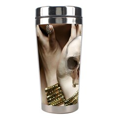 Skull Magic Stainless Steel Travel Tumblers by icarusismartdesigns