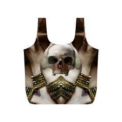 Skull Magic Full Print Recycle Bags (s)  by icarusismartdesigns