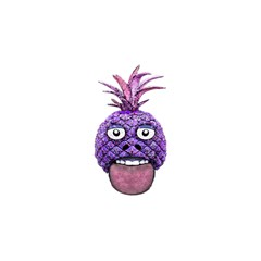Funny Fruit Face Head Character You Are Invited 3d Greeting Card (8x4)  by dflcprints