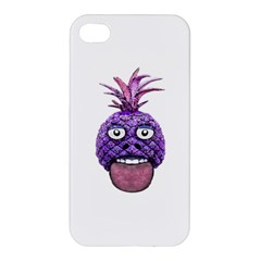Funny Fruit Face Head Character Apple Iphone 4/4s Hardshell Case by dflcprints