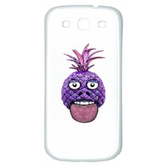 Funny Fruit Face Head Character Samsung Galaxy S3 S Iii Classic Hardshell Back Case by dflcprints