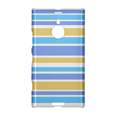 Blue Yellow Stripes Nokia Lumia 1520 by BrightVibesDesign