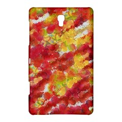 Colorful Splatters                                      			samsung Galaxy Tab S (8 4 ) Hardshell Case by LalyLauraFLM