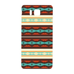 Stripes And Rhombus Chains                                      samsung Galaxy Alpha Hardshell Back Case by LalyLauraFLM