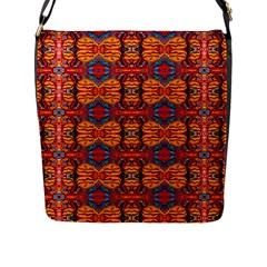 Planet Spice Flap Messenger Bag (l)  by MRTACPANS