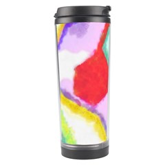 Watercolors Shapes                                         Travel Tumbler by LalyLauraFLM