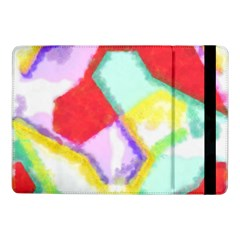 Watercolors Shapes                                         			samsung Galaxy Tab Pro 10 1  Flip Case by LalyLauraFLM