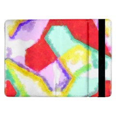 Watercolors Shapes                                         			samsung Galaxy Tab Pro 12 2  Flip Case by LalyLauraFLM