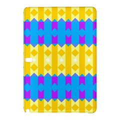 Rhombus And Other Shapes Pattern                                          			samsung Galaxy Tab Pro 12 2 Hardshell Case by LalyLauraFLM