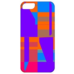 Misc Colorful Shapes                                           apple Iphone 5 Classic Hardshell Case by LalyLauraFLM