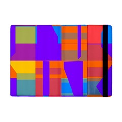 Misc Colorful Shapes                                           			apple Ipad Mini Flip Case by LalyLauraFLM