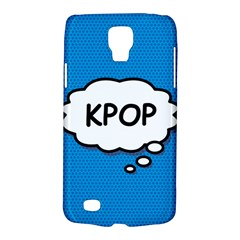 Comic Book Kpop Blue Galaxy S4 Active by ComicBookPOP