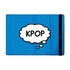 Comic Book Kpop Blue Ipad Mini 2 Flip Cases by ComicBookPOP