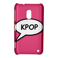Comic Book Shout Kpop Pink Nokia Lumia 620 by ComicBookPOP