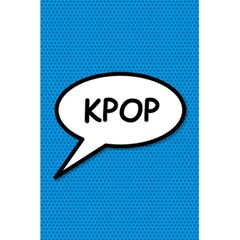 Comic Book Shout Kpop (blue) 5 5  X 8 5  Notebooks by ComicBookPOP
