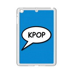 Comic Book Shout Kpop (Blue) iPad Mini 2 Enamel Coated Cases by ComicBookPOP