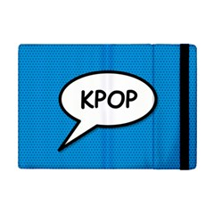Comic Book Shout Kpop (blue) Ipad Mini 2 Flip Cases by ComicBookPOP