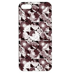 Ornate Modern Floral Apple Iphone 5 Hardshell Case With Stand by dflcprints