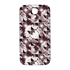 Ornate Modern Floral Samsung Galaxy S4 I9500/i9505  Hardshell Back Case by dflcprints