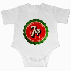 Fresh Up With  7 Up Bottle Cap Tin Metal Infant Creeper by Casanova