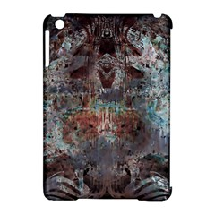 Metallic Copper Patina Urban Grunge Texture Apple Ipad Mini Hardshell Case (compatible With Smart Cover) by CrypticFragmentsDesign
