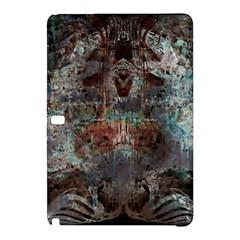Metallic Copper Patina Urban Grunge Texture Samsung Galaxy Tab Pro 12 2 Hardshell Case by CrypticFragmentsDesign