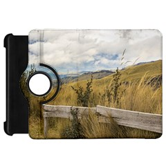 Trekking Road At Andes Range In Quito Ecuador  Kindle Fire Hd Flip 360 Case by dflcprints