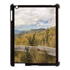 Trekking Road At Andes Range In Quito Ecuador  Apple Ipad 3/4 Case (black) by dflcprints