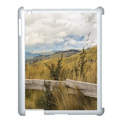 Trekking Road At Andes Range In Quito Ecuador  Apple Ipad 3/4 Case (white) by dflcprints