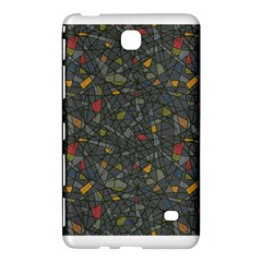 Abstract Reg Samsung Galaxy Tab 4 (7 ) Hardshell Case  by FunkyPatterns