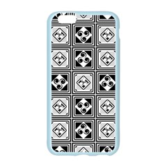 Black And White Apple Seamless iPhone 6/6S Case (Color) by FunkyPatterns