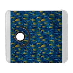 Blue Waves Samsung Galaxy S  III Flip 360 Case by FunkyPatterns