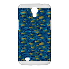 Blue Waves Samsung Galaxy Mega 6 3  I9200 Hardshell Case by FunkyPatterns