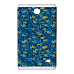 Blue Waves Samsung Galaxy Tab 4 (8 ) Hardshell Case  by FunkyPatterns