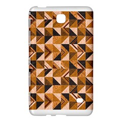 Brown Tiles Samsung Galaxy Tab 4 (7 ) Hardshell Case  by FunkyPatterns