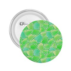 Green Glowing 2.25  Buttons by FunkyPatterns