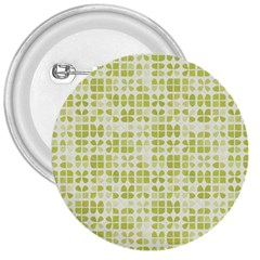 Pastel Green 3  Buttons by FunkyPatterns