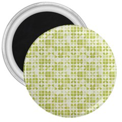 Pastel Green 3  Magnets by FunkyPatterns