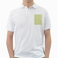 Pastel Green Golf Shirts by FunkyPatterns