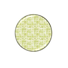 Pastel Green Hat Clip Ball Marker by FunkyPatterns