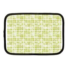 Pastel Green Netbook Case (medium)  by FunkyPatterns